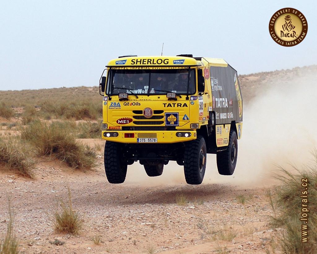 Dakar Tatra Truck
